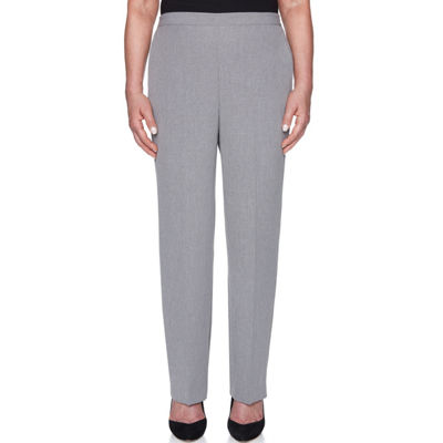 Alfred Dunner Smart Investments Woven Pull-On Pants