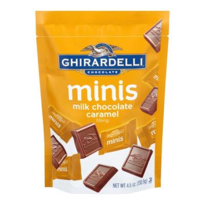 Ghirardelli Minis Caramel Filling Milk Chocolate 4.6 oz - 3 Pack