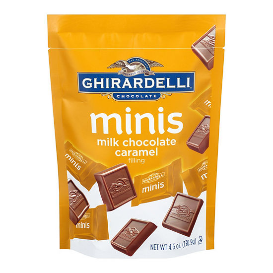 Ghirardelli Minis Caramel Filling Milk Chocolate 4.6 oz - 3 Pack