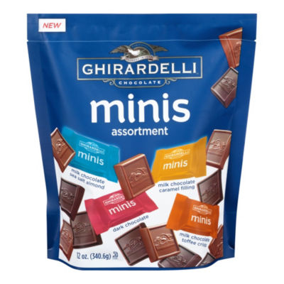 Ghirardelli Chocolate Minis Assortment Bag - 12.2oz