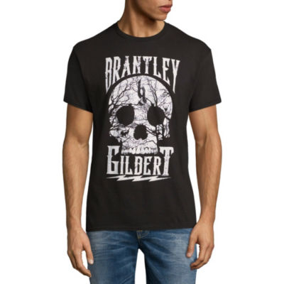 Brantley Gilbert Cracked Skull Graphic Tee
