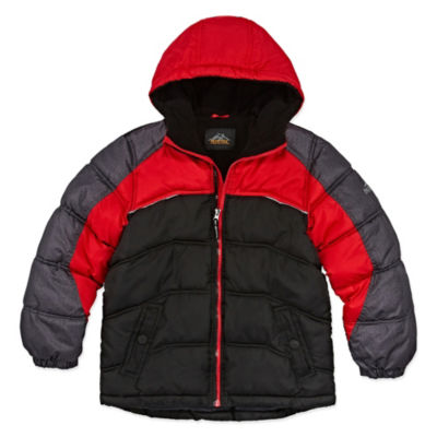 Pacific Trail - Boys Heavyweight Puffer Jacket-Big Kid