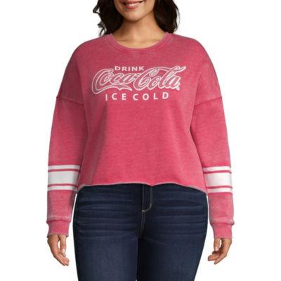Coca Cola Sweatshirt - Juniors Plus