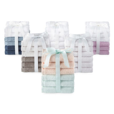 Morgan Home Fashions 6pc Washcloth Set