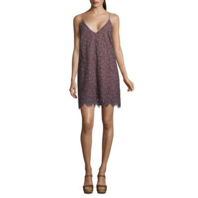 Speechless Sleeveless Slip Dress-Juniors