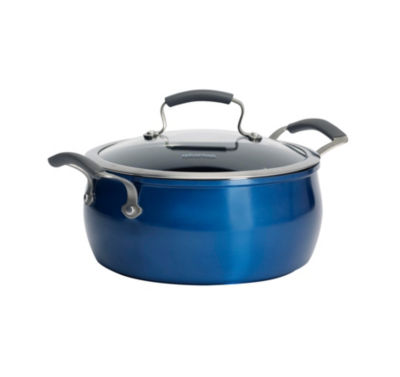 Epicurious 5-Qt. Chili Pot Aluminum Dishwasher Safe Non-Stick Dutch Oven
