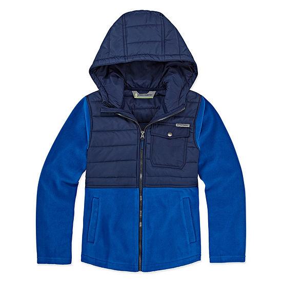 Free Country Fleece Lightweight Jacket-Big Kid Boys