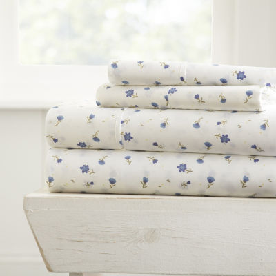 Casual Comfort™ Premium Ultra Soft Floral Pattern Sheet Set