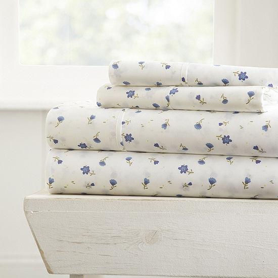 Casual Comfort™ Premium Ultra Soft Floral Pattern Sheet Set
