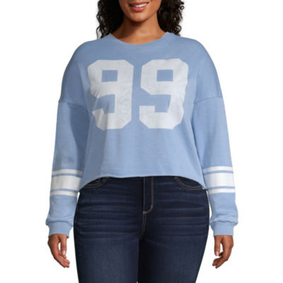"""99"" Sweatshirt - Juniors Plus"