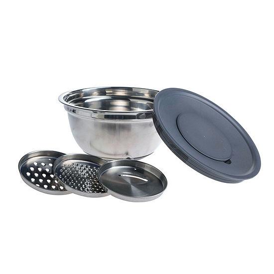 Basic Essentials Basic Essential Stainless Steel 5-pc. Prep Bowl