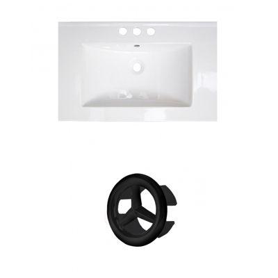 23.75-in. W 3H4-in. Ceramic Top Set In White Color