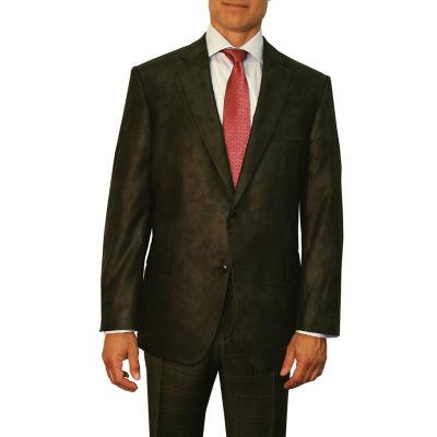 Jean Paul Germain Faux Leather Blazer