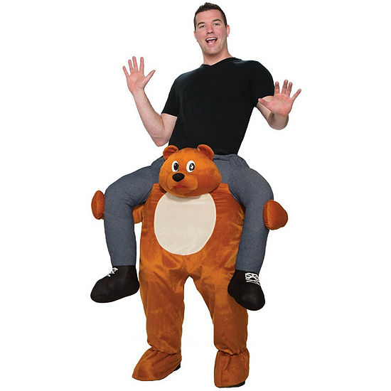 Adult Ride On A Bear Costume Costume