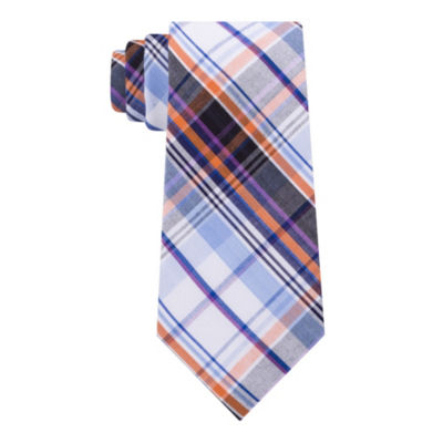 Stafford Broadcloth 2 Plaid Tie