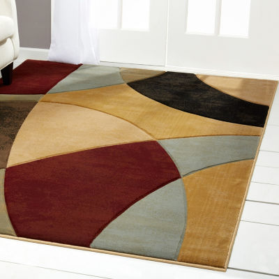 Home Dynamix Evolution Conrad Abstract RectangularArea Rug
