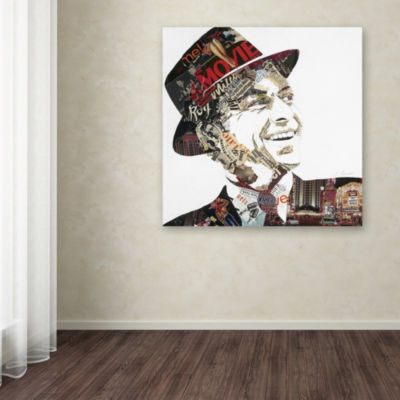 Trademark Fine Art Ines Kouidis Franky Giclee Canvas Art