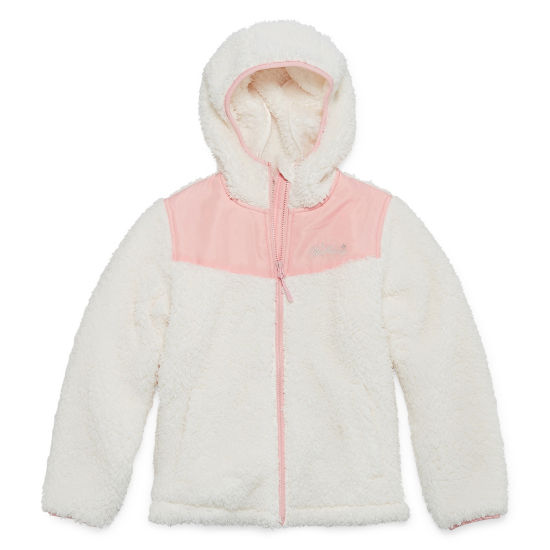 Weatherproof Lightweight Fleece Jacket-Big Kid Girls Plus