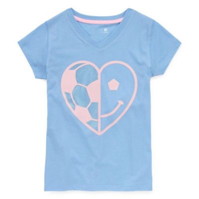 Xersion Short Sleeve Graphic T-Shirt - Girls' 4-16