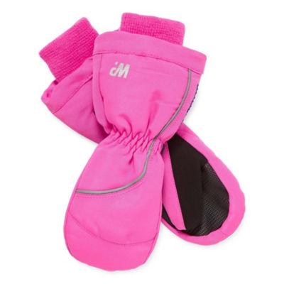 WinterProof Cold Weather Toddler Ski Mittens-Girls