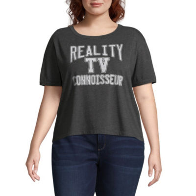 Reality TV Tee - Juniors Plus