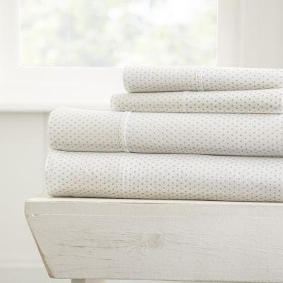 Casual Comfort™ Premium Ultra Soft Stippled Pattern Sheet Set