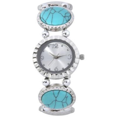 Mixit Womens Silver Tone Bracelet Watch-Wac2023jc