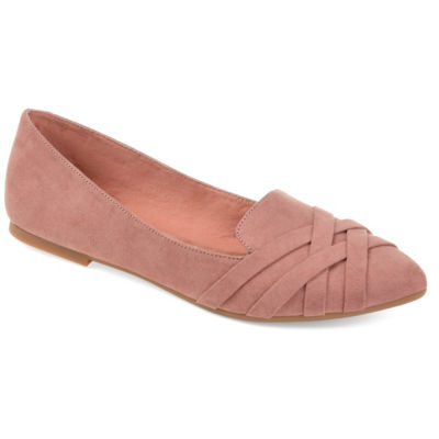 Journee Collection Womens Mindee Ballet Flats Slip-on Pointed Toe
