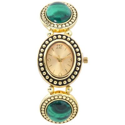 Mixit Womens Gold Tone Bracelet Watch-Wac2024jc