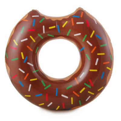 RhinoMaster Play Gourmet Chocolate Doughnut - Inflatable Tube