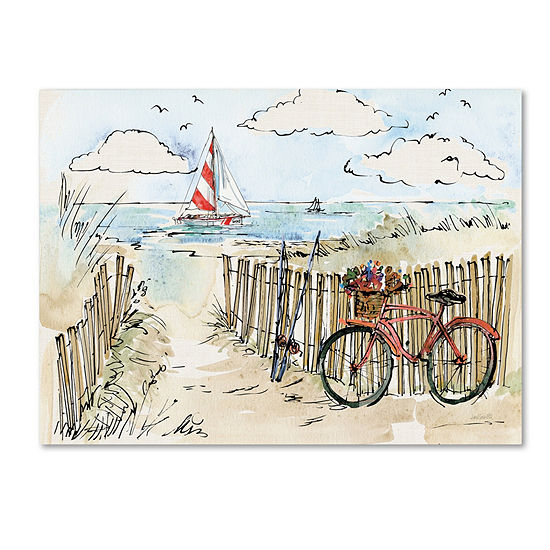 Trademark Fine Art Anne Tavoletti Coastal Catch VIGiclee Canvas Art