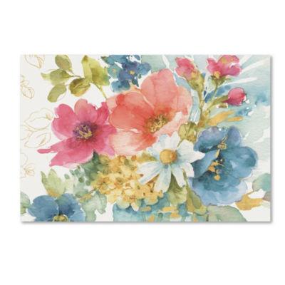 Trademark Fine Art Lisa Audit My Garden Bouquet IGiclee Canvas Art