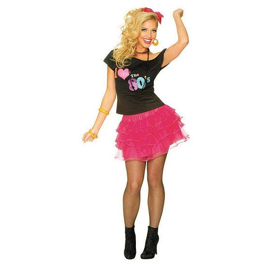 Buyseasons Women'S Hot Pink 80s Petticoat