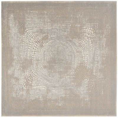 Safavieh Meadow Collection Benson Dots Square Area Rug