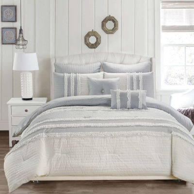 Kensie Chartreux 8-Piece Comforter Set