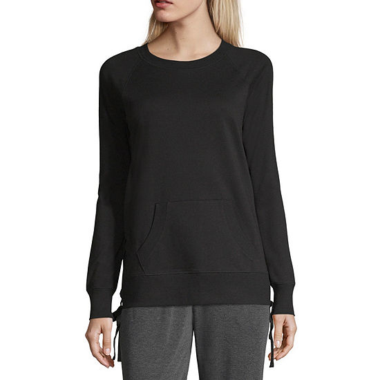 Xersion Side Lace Up Sweatshirt - Tall