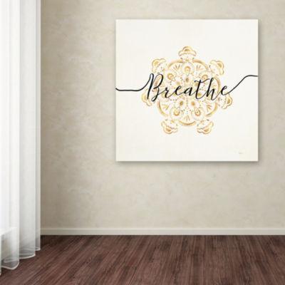 Trademark Fine Art Veronique Charron Namaste II Giclee Canvas Art