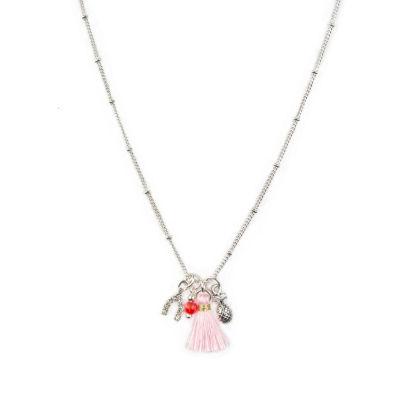 Arizona Womens Clear Strand Necklace