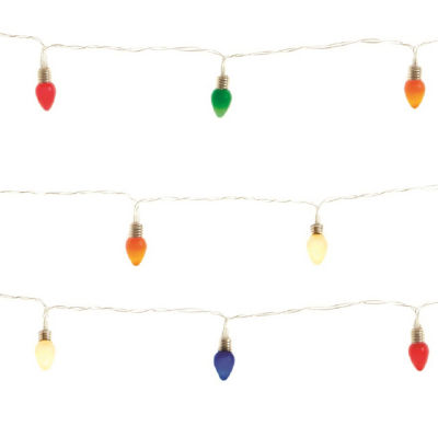 Apothecary Multi-Color Timer Indoor String Lights