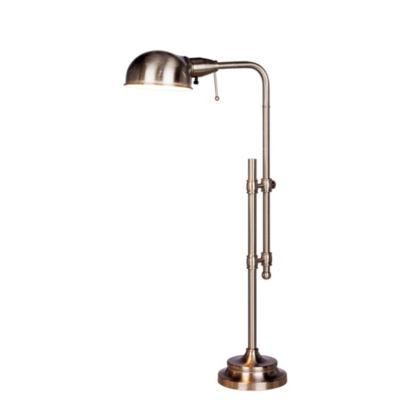 "Fangio Lighting's 22 3/4"" - 29"" Adjustable Metal Table Lamp"