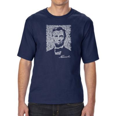 Los Angeles Pop Art Boy's Raglan Baseball Word Art T-shirt - EDGAR ALLEN POE - THE RAVEN