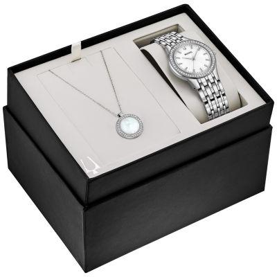 Bulova Womens Silver Tone Bracelet Watch-96x146