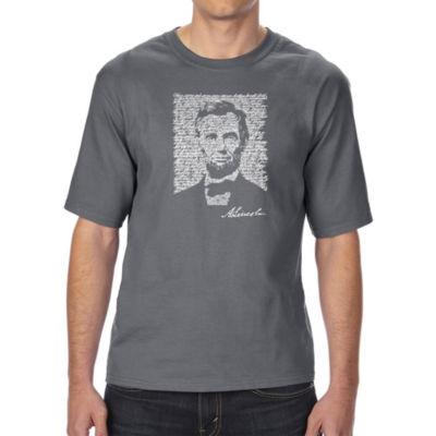 Los Angeles Pop Art Boy's Raglan Baseball Word Art T-shirt - Poses OM