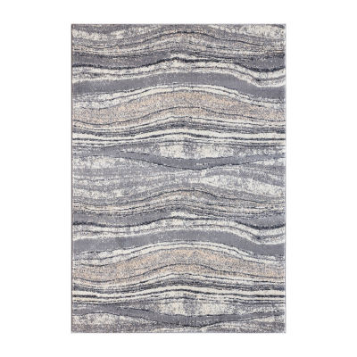VCNY Marble Rectangular Rugs