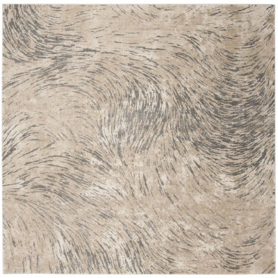Safavieh Meadow Collection Clodagh Abstract Square Area Rug