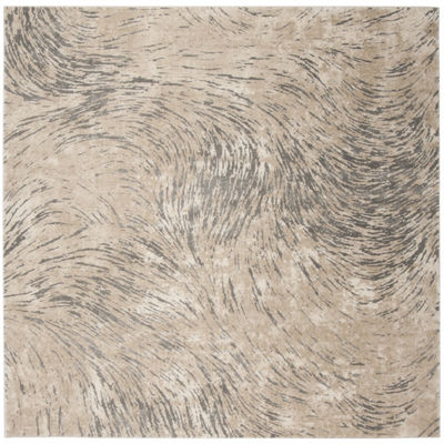 Safavieh Meadow Collection Clodagh Abstract SquareArea Rug