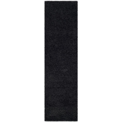 Safavieh Laguna Shag Collection Claes Solid Runner Rug
