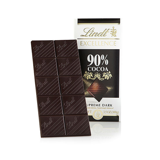Lindt Excellence 90% Cocoa Bar - 3.5 oz - 12 Count