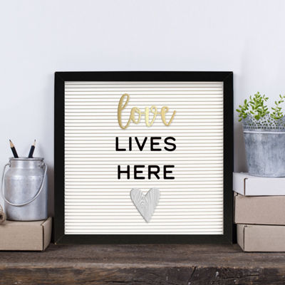 New View 12x12 Letterboard Wall Decal