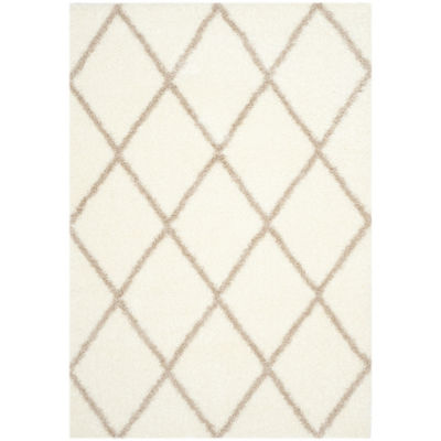 Safavieh Montreal Shag Collection Doriane Geometric Area Rug